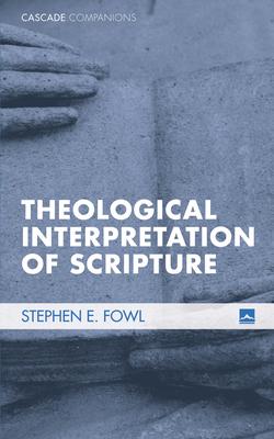 Cover for Theological Interpretation of Scripture (Cascade Companions)