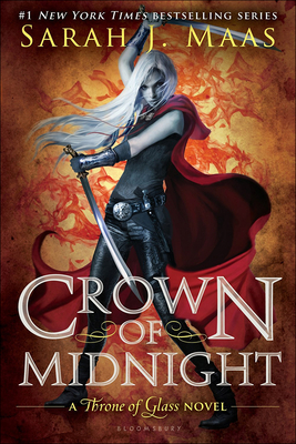 Crown of Midnight (Throne of Glass) Cover Image
