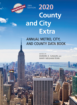 County and City Extra 2020: Annual Metro, City, and County Data Book Cover Image