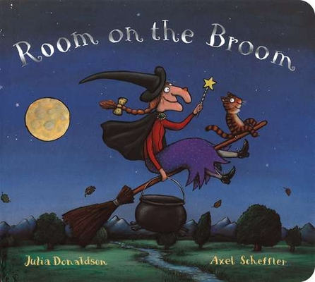 Room on the Broom Board Book Cover Image