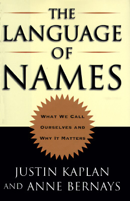 The Language of Names Cover