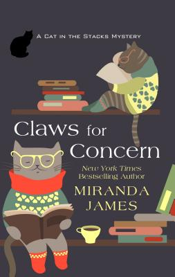 Claws for Concern (Cat in the Stacks Mystery) Cover Image