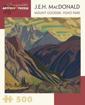 J.E.H. MacDonald: Mount Goodsir, Yoho Park 500-Piece Jigsaw Puzzle Cover Image