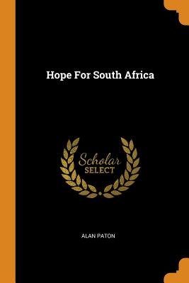 Hope for South Africa Cover Image
