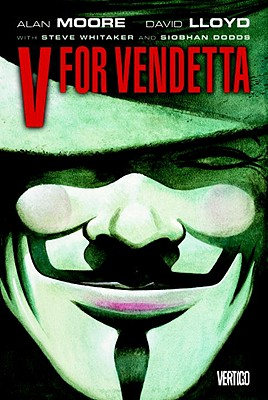 V For Vendetta New cover image