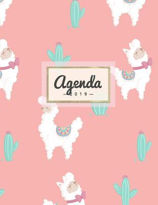 Agenda 2019: Semanal Diario Organizador Calendario - Alpaca Cover Image