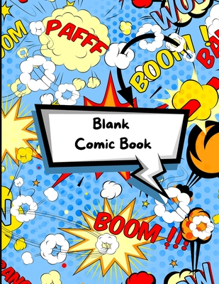 Blank Comic Book Cover Image
