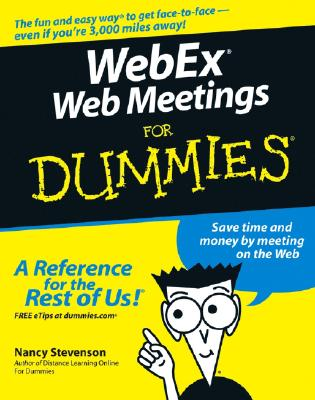 Webex Web Meetings for Dummies Cover Image