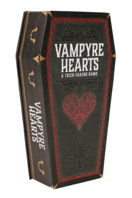 Vampyre Hearts: A Trick-Taking Game (Halloween Gifts, Party Games, Spooky Games) Cover Image