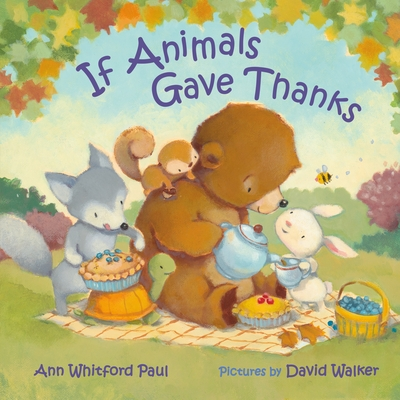 Cover for If Animals Gave Thanks (If Animals Kissed Good Night)