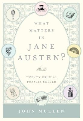 What Matters in Jane Austen? Cover