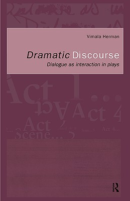 Cover for Dramatic Discourse
