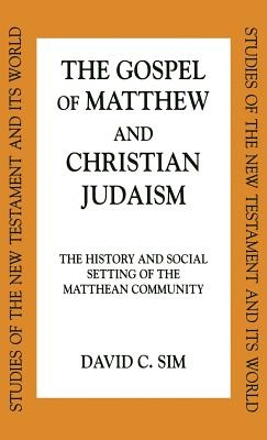 Cover for Gospel of Matthew and Christian Judaism