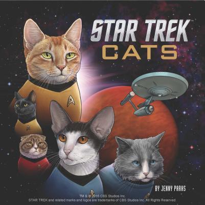 Star Trek Cats: (Star Trek Book, Book About Cats) Cover Image