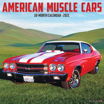 American Muscle Cars 2021 Wall Calendar Cover Image