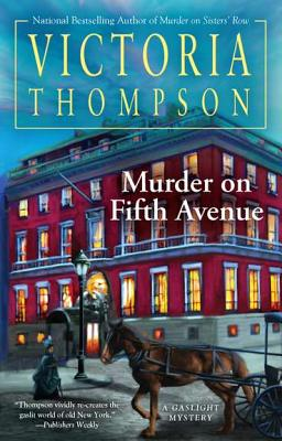 Murder on Fifth Avenue Cover