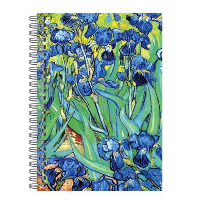 Van Gogh Irises Wire-O Journal 6 X 8.5