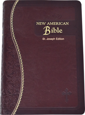 Saint Joseph Medium Size Gift Bible-NABRE Cover Image