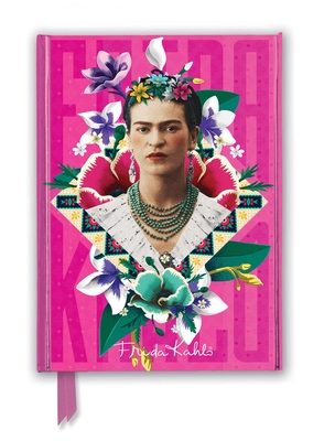 Frida Kahlo Pink (Foiled Journal) (Flame Tree Notebooks) Cover Image