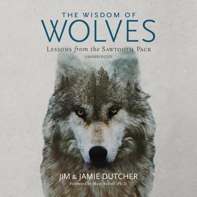 The Wisdom of Wolves Lib/E: Lessons from the Sawtooth Pack Cover Image