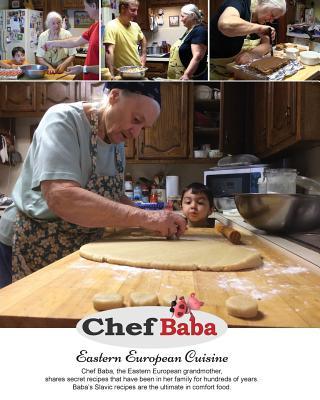 Chef Baba Cookbook: Eastern European Cuisine Cover Image