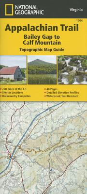 Appalachian Trail, Bailey Gap to Calf Mountain [Virginia] Cover Image