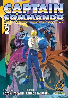 Captain Commando Volume 2 Cover