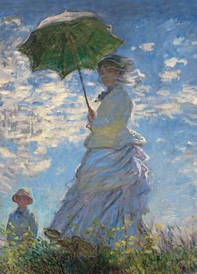 Woman with a Parasol Notebook Cover Image