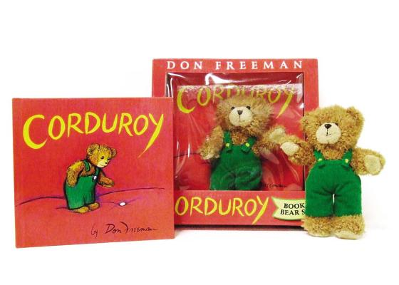 Corduroy Book and Bear Cover Image