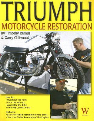 Triumph Motorcycle Restoration: Unit 650cc Cover Image