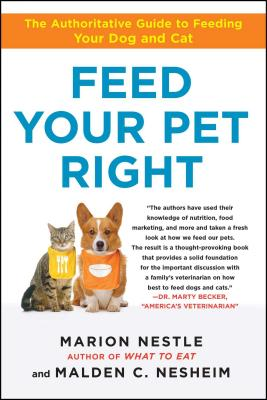 Feed Your Pet Right Cover