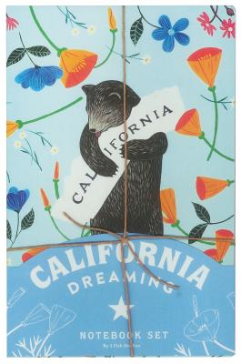 California Dreaming Notebook Set (California Gifts, Notebook Collection, Journal Set) Cover Image