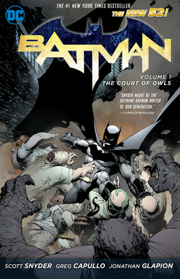 Batman: The Court of Owls cover image