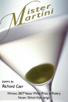 Cover for Mister Martini (Vassar Miller Prize in Poetry #15)
