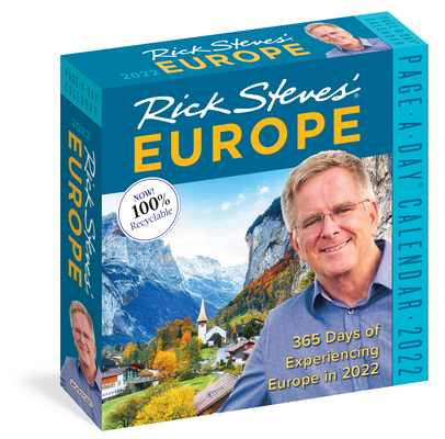 Rick Steves' Europe Page-A-Day Calendar 2022: 365 of Experiencing Europe in 2022. Cover Image
