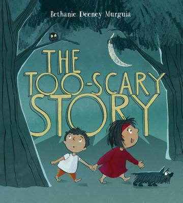 Cover for The Too-Scary Story