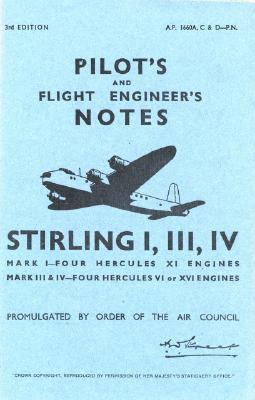 Shorts Stirling I, III, & IV - Pilot's Notes - Op Cover Image