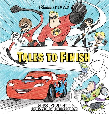 Disney*Pixar Storybook Collection: Tales to Finish: Color Your Own Storybook Collection! Cover Image