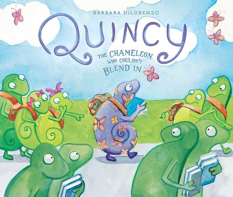 Quincy: The Chameleon Who Couldn't Blend In Cover Image