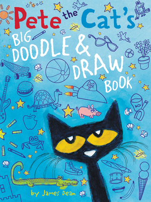 Cover for Pete the Cat's Big Doodle & Draw Book