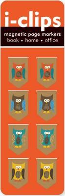 Iclip Magnetic Bkmk Owls (Magnetic Bookmark) Cover Image