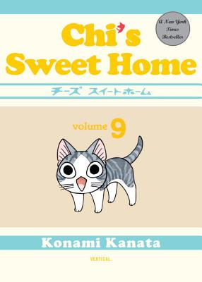 Chi's Sweet Home, Volume 9 Cover