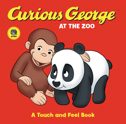 Curious George at the Zoo (CGTV Touch-and-Feel Board Book) Cover Image