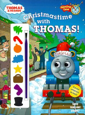 Christmastime with Thomas (Thomas & Friends) [With Paint Brush and 8 Paints] Cover