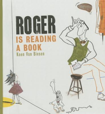 Roger Is Reading a Book Cover Image