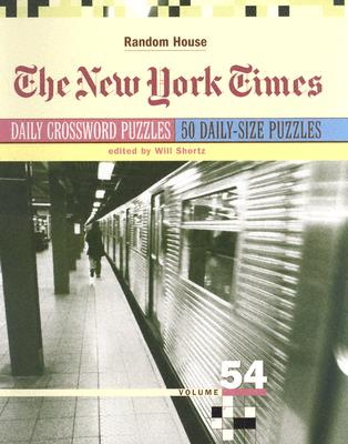The New York Times Daily Crossword Puzzles, Volume 54 Cover