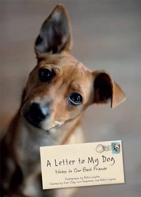 A Letter to My Dog Cover