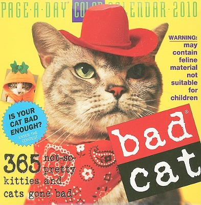 Bad Cat Page-A-Day Calendar 2010 Cover Image