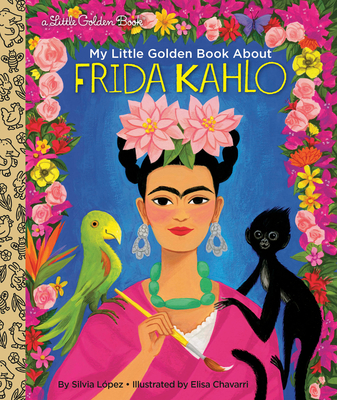 My Little Golden Book About Frida Kahlo Cover Image