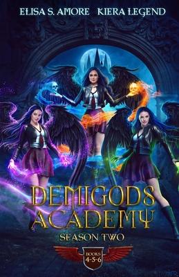 Demigods Academy Box Set - Season Two (Young Adult Supernatural Urban Fantasy) Cover Image